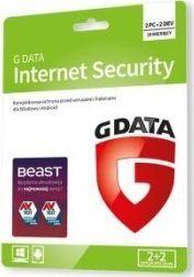 Gdata Internet Security Card 2 urządzenia 20 miesięcy  (C1802KK122U2GE) 1