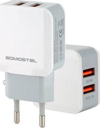 Ładowarka Somostel SMS-A13 + kabel microUSB 1