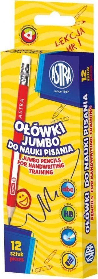 Astra Ołówek do nauki pisania (12szt) ASTRA 1