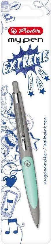 Herlitz Długopis My.pen popielato-miętowy 1