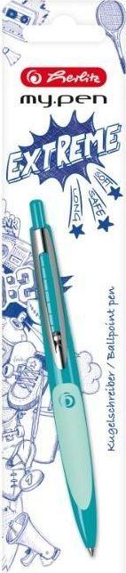 Herlitz Długopis My.Pen jasna zieleń-ciemna zieleń 1