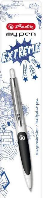 Herlitz Długopis My.Pen biało-czarny 1