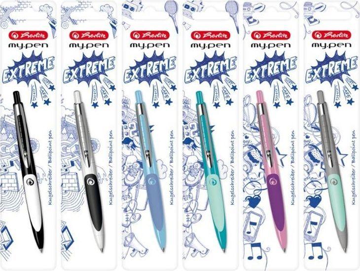 Herlitz Długopis zmazywalny My.Pen mix 1