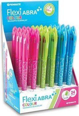 Penmate Długopis ścieralny Flexi Abra Colour(24szt)PENMATE 1