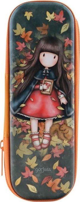 Piórnik Santoro Blaszany piórnik na suwak - Autumn Leaves 1