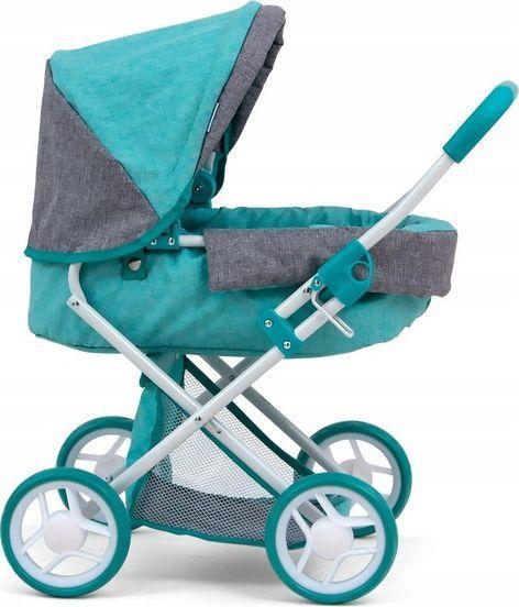 Milly Mally Wózek dla lalek Alice Prestige Mint 1