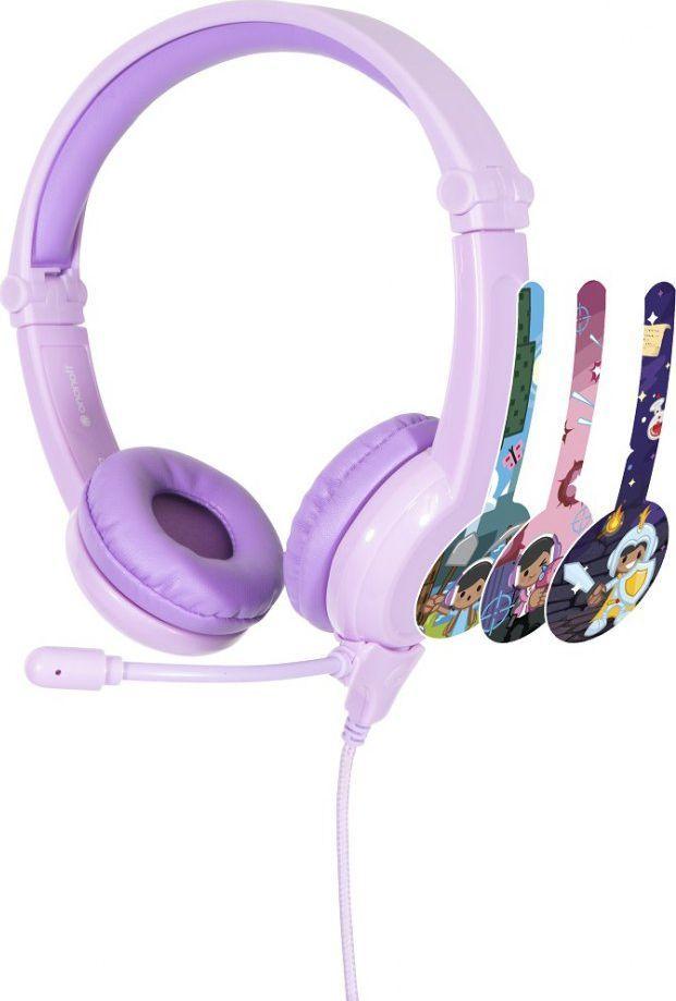 Słuchawki BuddyPhones Galaxy 3+ (BP-GALAXY-PURPLE) 1