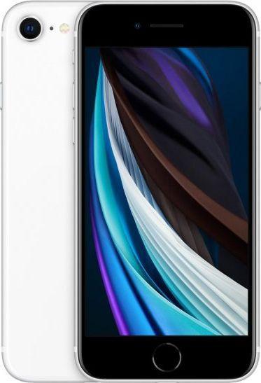 Smartfon Apple iPhone SE 2020 128 GB Dual SIM Biały  (MXD12PM/A) 1