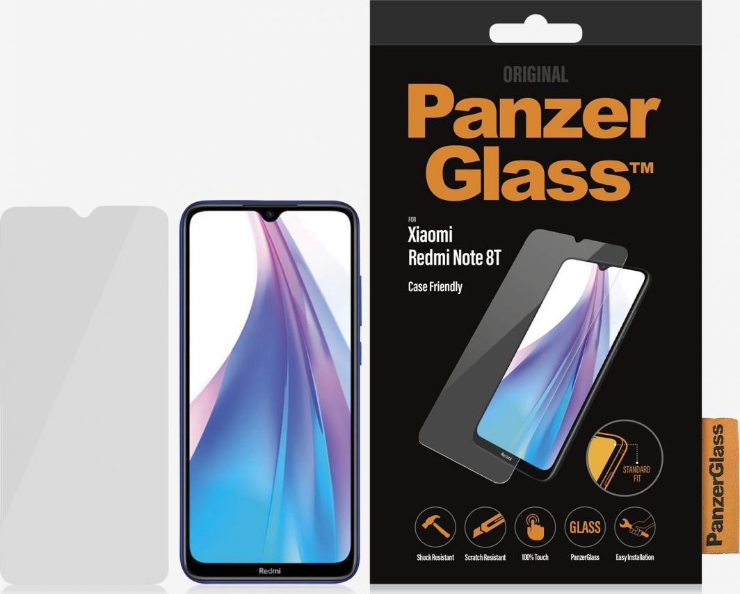 PanzerGlass Szkło hartowane do Xiaomi Redmi Note 8T Case Friendly (8023) 1