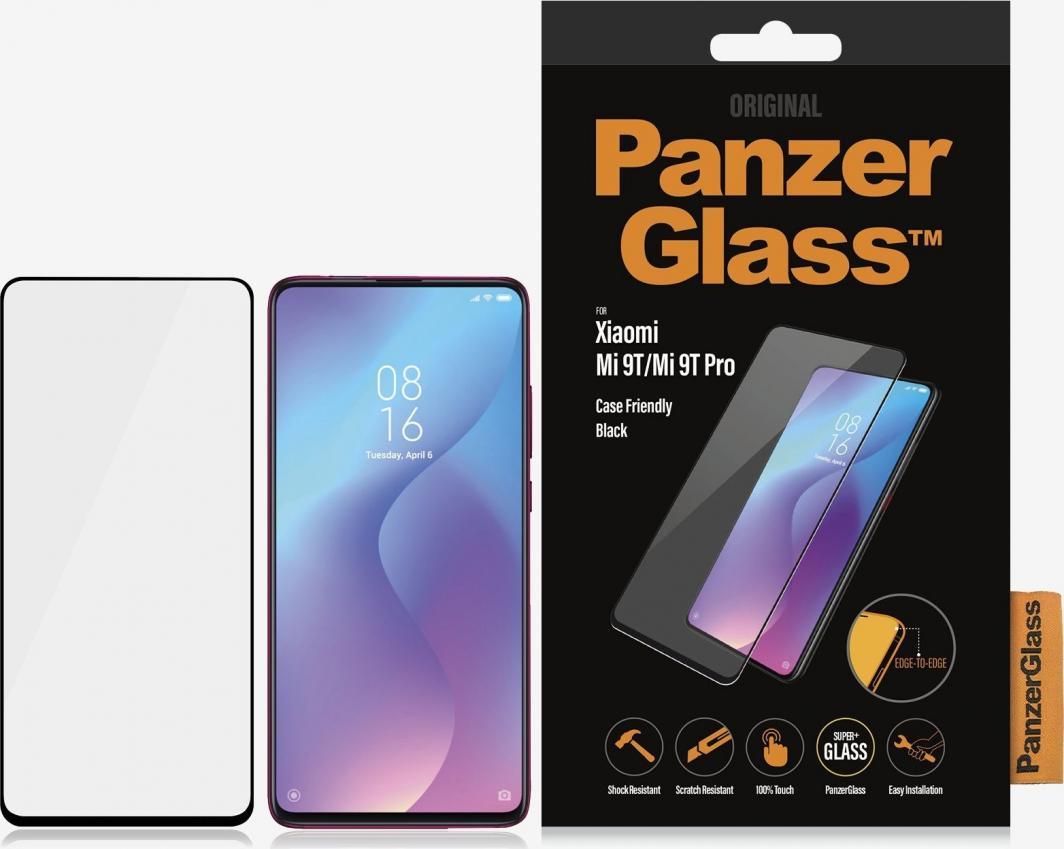 PanzerGlass Szkło hartowane do Xiaomi Mi 9T/Mi 9T Pro Case Friendly Black (8013) 1