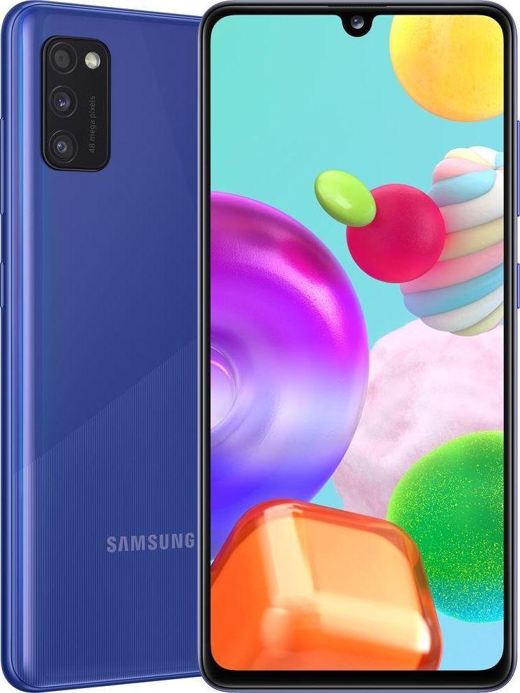 Smartfon Samsung Galaxy A41 64 GB Dual SIM Niebieski (SM-A415FZB) 1