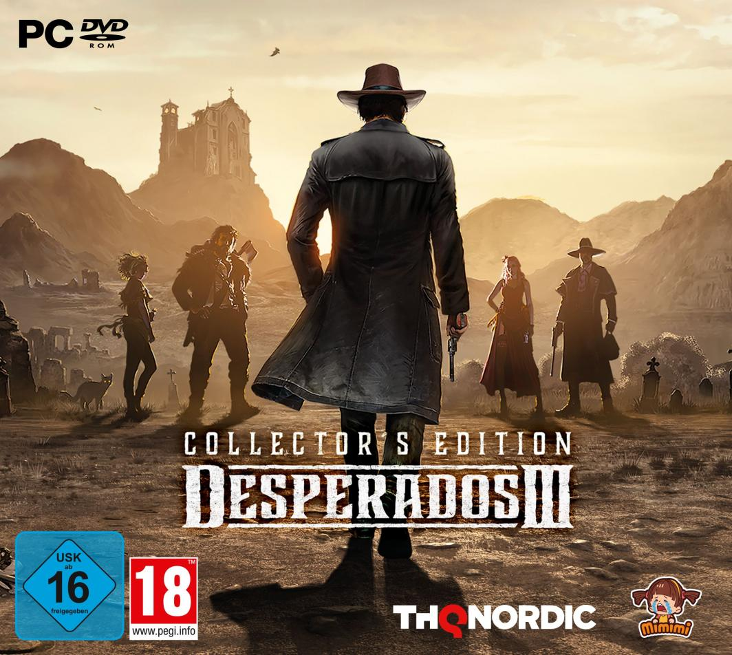 Desperados III Collector's Edition 1