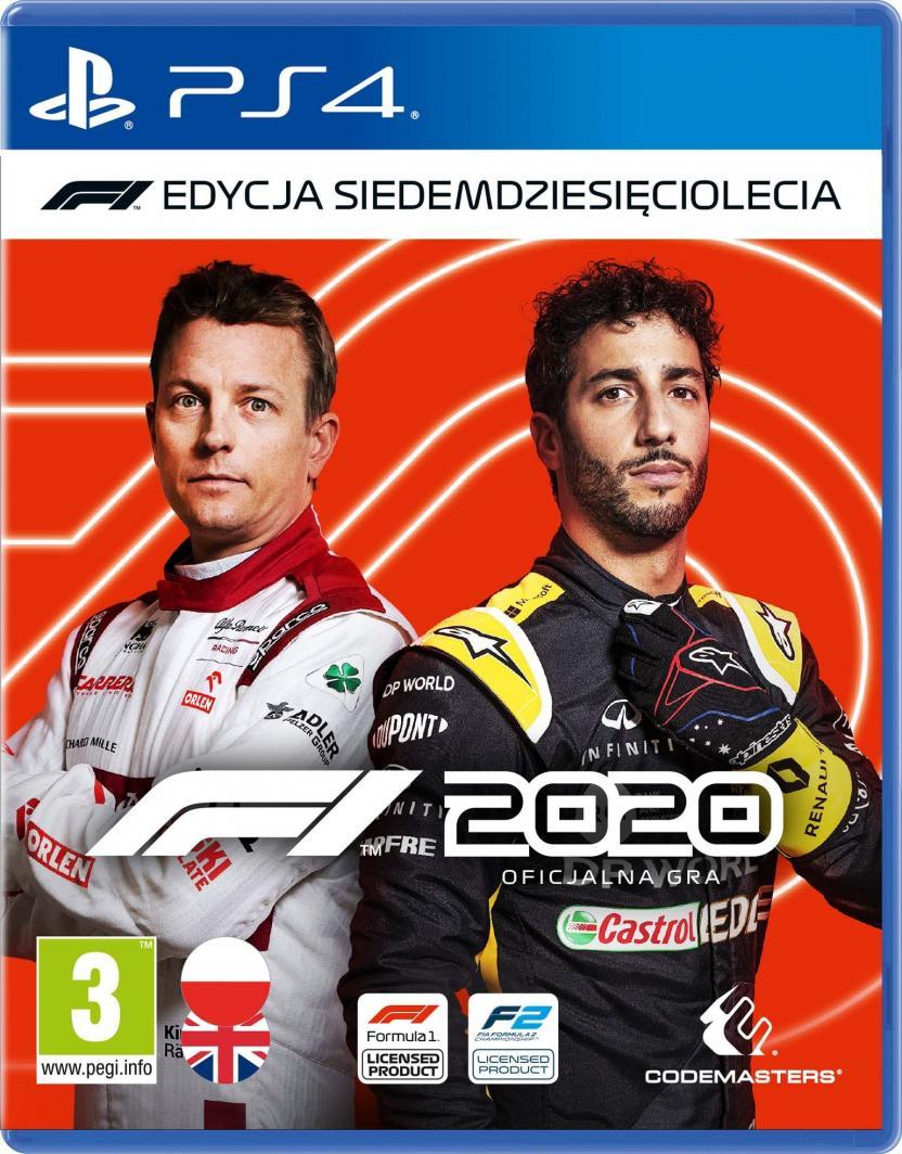 F1 2020 Edycja Siedemdziesięciolecia PS4 1