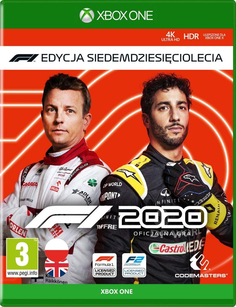 F1 2020 Edycja Siedemdziesięciolecia Xbox One 1