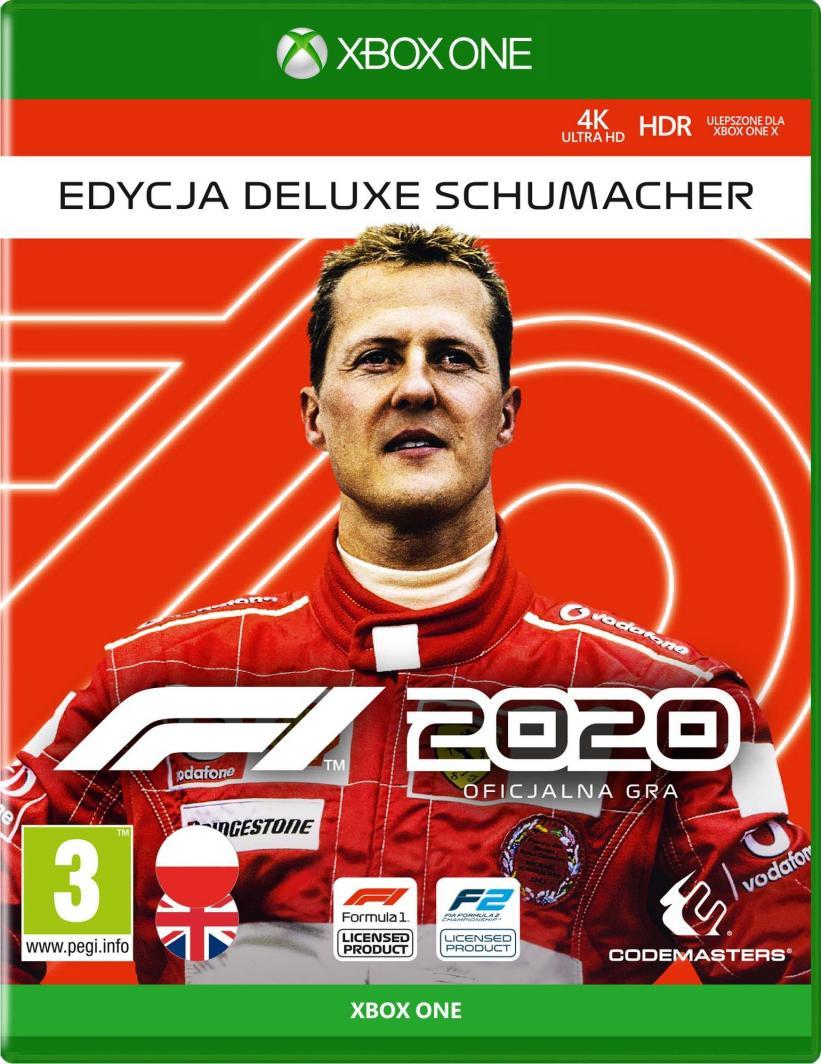 F1 2020 Edycja Deluxe Schumacher Xbox One 1