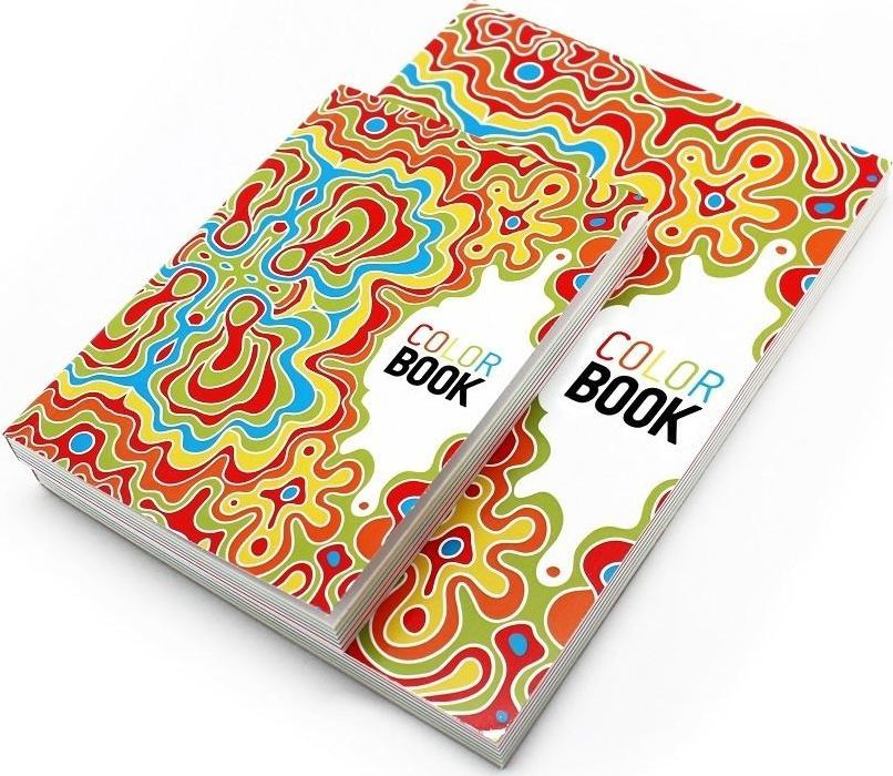 Make Notes Color book Notatnik ozdobny A6/115K gładki mozaika 1