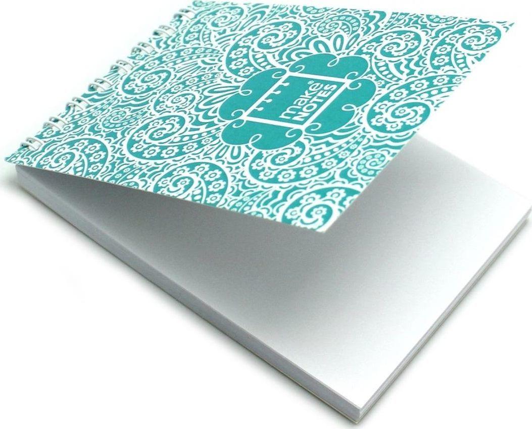 Make Notes MN Paisley One Kołonotes A7/64K gładki 1
