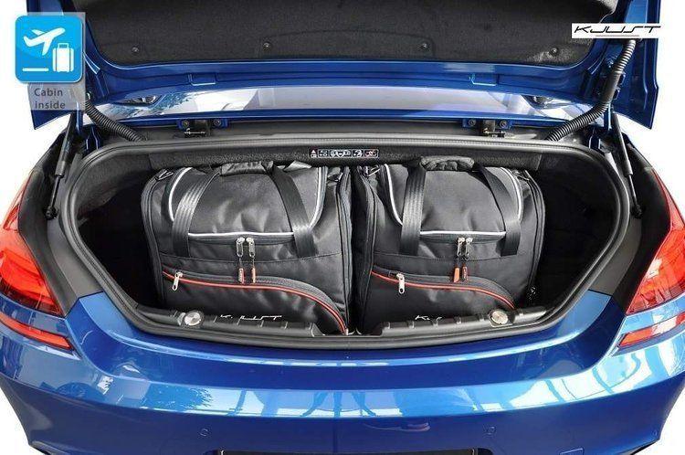 KJUST BMW 6 CABRIO 2011+ TORBY DO BAGAŻNIKA 4 SZT uniwersalny 1