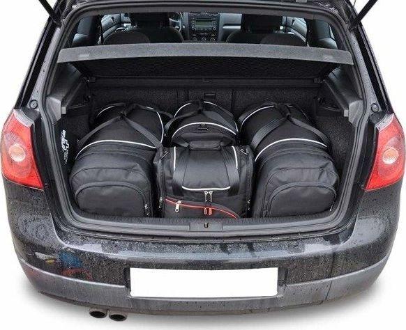 KJUST VW GOLF HATCHBACK 2003-2008 TORBY DO BAGAŻNIKA 4 SZT uniwersalny 1