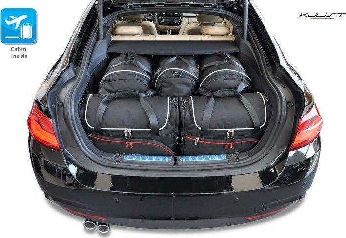 KJUST BMW 4 GRAN COUPE 2013+ TORBY DO BAGAŻNIKA 5 SZT uniwersalny 1