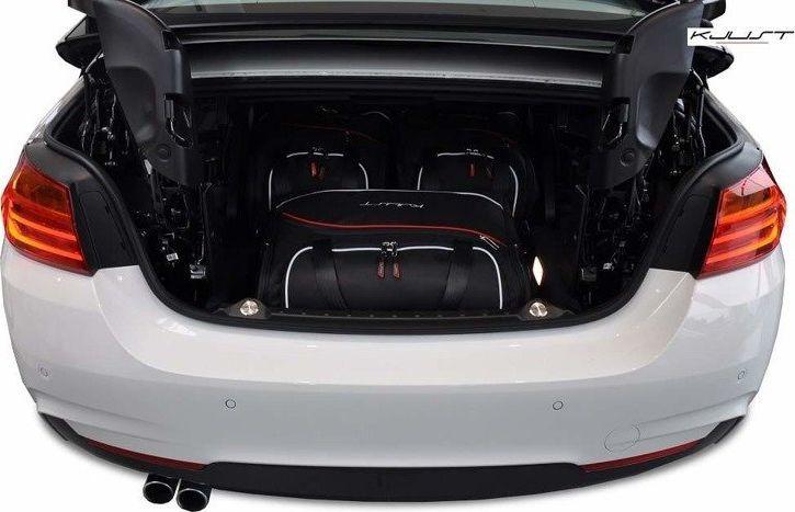 KJUST BMW 4 CABRIO, 2013- TORBY DO BAGAŻNIKA 3 SZT uniwersalny 1