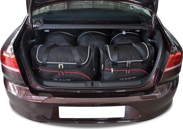 KJUST VW PASSAT LIMOUSINE 2014+ TORBY DO BAGAŻNIKA 5 SZT uniwersalny 1