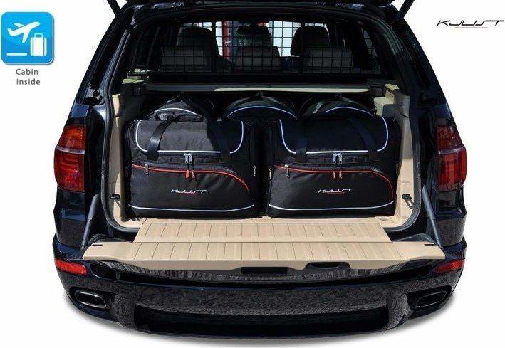 KJUST BMW X5 2006-2013 TORBY DO BAGAŻNIKA 5 SZT uniwersalny 1