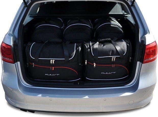 KJUST VW PASSAT VARIANT 2010-2014 TORBY DO BAGAŻNIKA 5 SZT uniwersalny 1