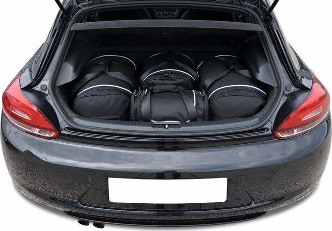 KJUST VW SCIROCCO 2008-2017 TORBY DO BAGAŻNIKA 4 SZT uniwersalny 1