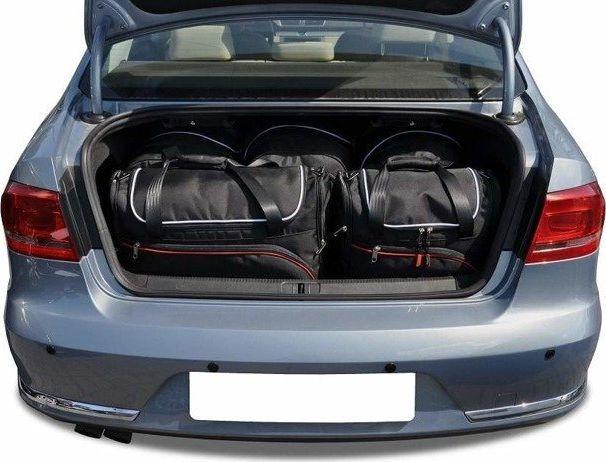 KJUST VW PASSAT LIMOUSINE 2010-2014 TORBY DO BAGAŻNIKA 5 SZT uniwersalny 1