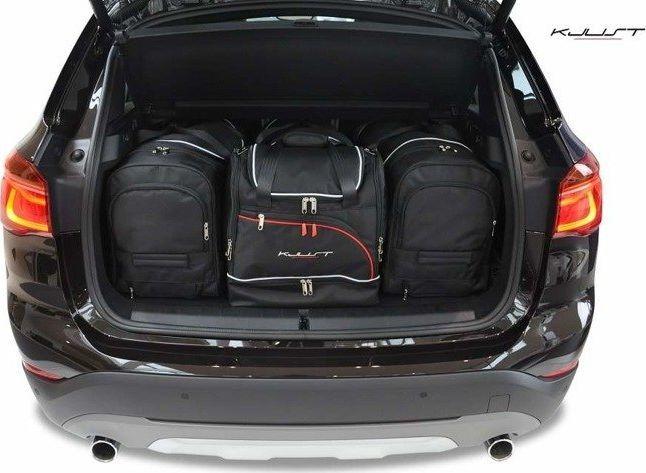 KJUST BMW X1 2015+ TORBY DO BAGAŻNIKA 4 SZT uniwersalny 1