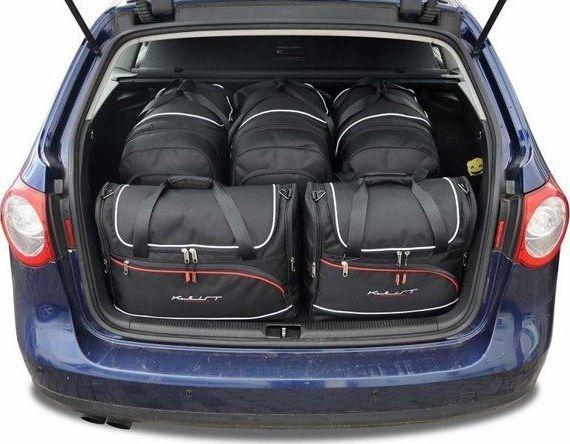 KJUST VW PASSAT VARIANT 2005-2010 TORBY DO BAGAŻNIKA 5 SZT uniwersalny 1