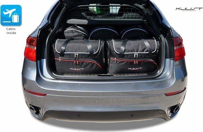 KJUST BMW X6 2008-2014 TORBY DO BAGAŻNIKA 5 SZT uniwersalny 1