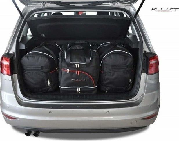 KJUST VW GOLF SPORTSVAN 2013+ TORBY DO BAGAŻNIKA 4 SZT uniwersalny 1
