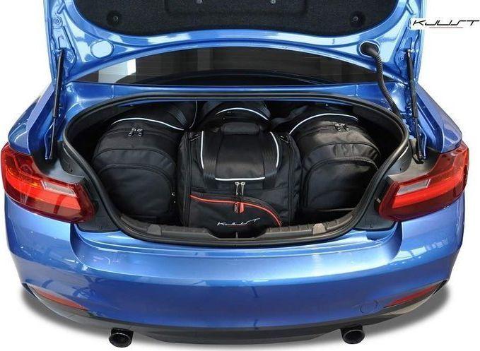 KJUST BMW 2 COUPE 2013+ TORBY DO BAGAŻNIKA 4 SZT uniwersalny 1
