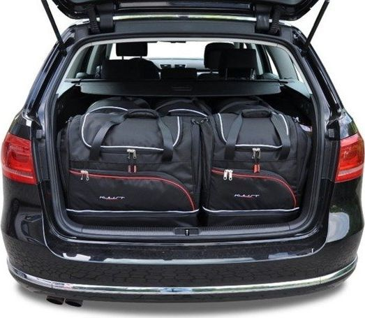 KJUST VW PASSAT VARIANT ALLTRACK 2010-2014 TORBY DO BAGAŻNIKA 5 SZT uniwersalny 1