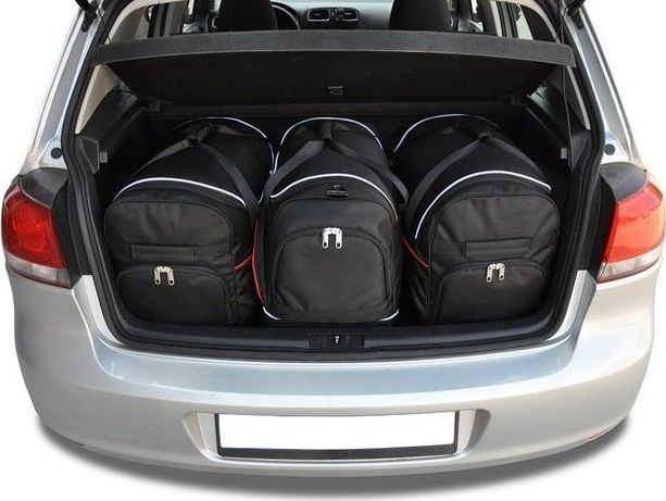 KJUST VW GOLF HATCHBACK 2008-2012 TORBY DO BAGAŻNIKA 3 SZT uniwersalny 1