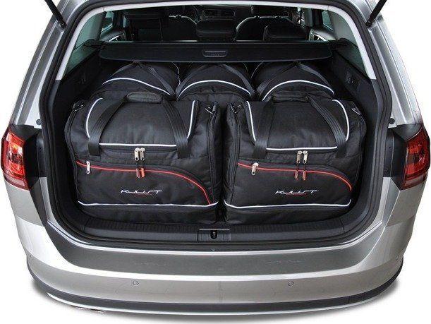 KJUST VW GOLF VARIANT 2013+ TORBY DO BAGAŻNIKA 5 SZT uniwersalny 1