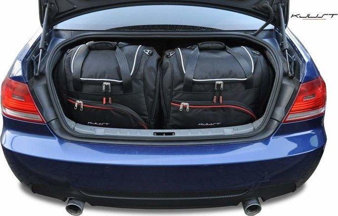 KJUST BMW 3 COUPE 2006-2013 TORBY DO BAGAŻNIKA 4 SZT uniwersalny 1