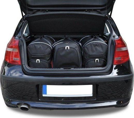 KJUST BMW 1 HATCHBACK 2004-2011 TORBY DO BAGAŻNIKA 3 SZT uniwersalny 1