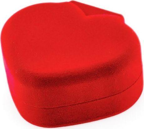 Prezentowe pudełko - serce - czerwone uniwersalny 1