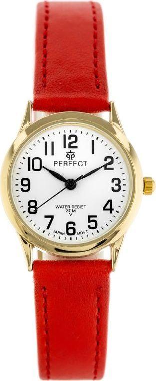 Zegarek Perfect ZEGAREK DAMSKI PERFECT 048 (zp903d) DŁUGI PASEK uniwersalny 1