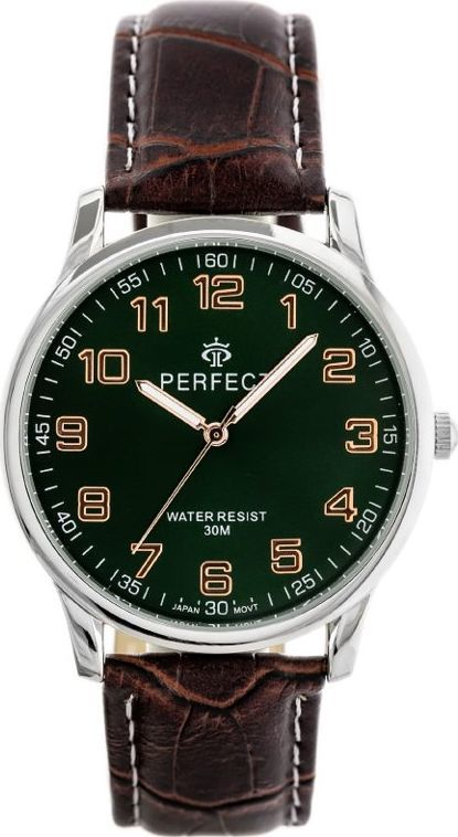 Zegarek Perfect ZEGAREK MĘSKI PERFECT KLASYKA (zp253g) uniwersalny 1