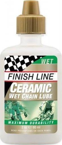 Finish Line Olej do łańcucha Finish Line Ceramic Wet Lube syntetyczny 60 ml uniwersalny 1