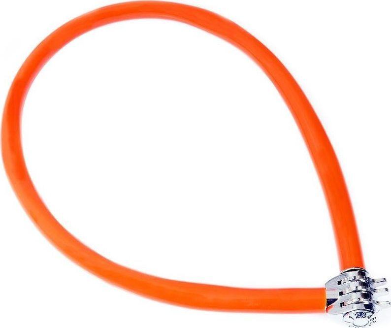 Kryptonite Zapięcie linka na szyfr Kryptonite Keeper 665 CC 6mm/65cm pomarańczowy uniwersalny 1