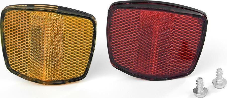 Odblask TF-115 czerwono-żółty (8029) 1