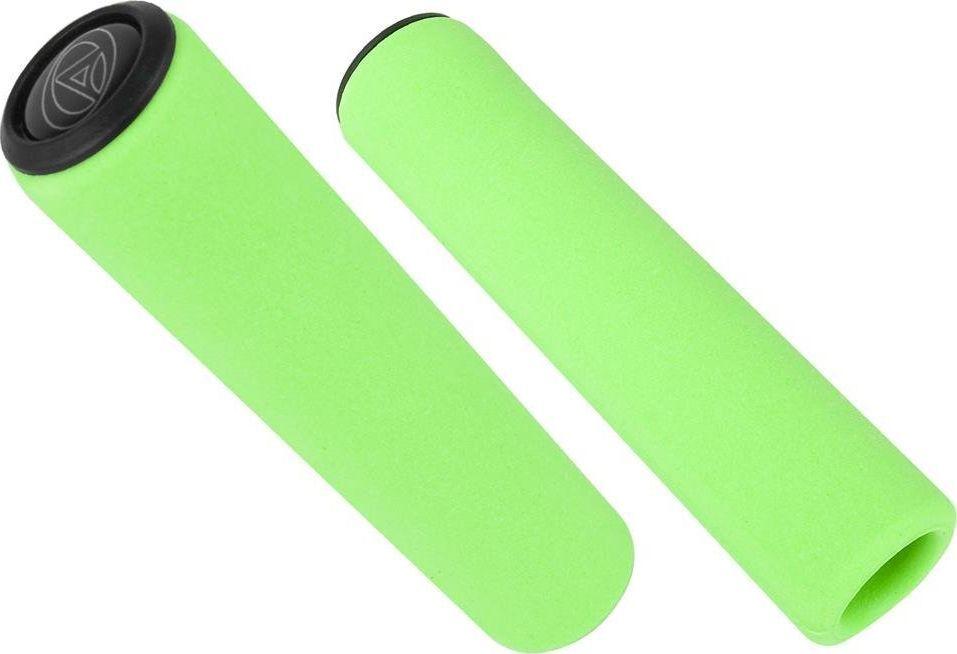 Author Chwyty kierownicy Author AGR Silicone Elite 129 mm, zielone fluo uniwersalny 1