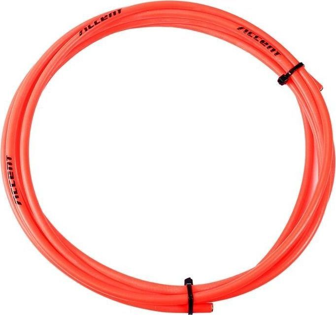 Accent Pancerz hamulcowy Accent 5 mm - 3 metry czerwony fluo uniwersalny 1