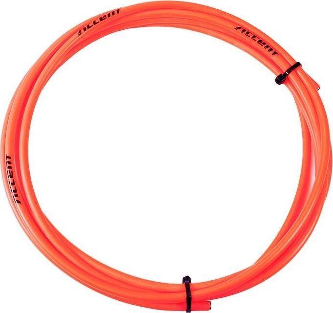Accent Pancerz przerzutkowy Accent 4mm x 3m pomarańczowy fluo uniwersalny 1