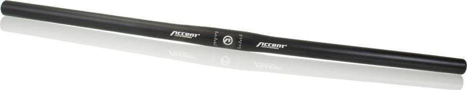 Accent Kierownica Accent Basic prosta, 640 mm / 31,8 mm, czarna uniwersalny 1